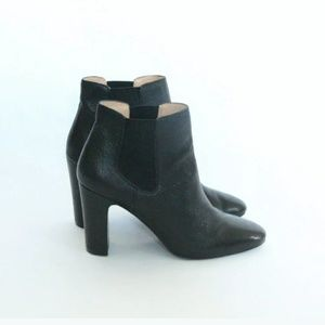 Banana Republic Black Ankle Boots Booties 7.5